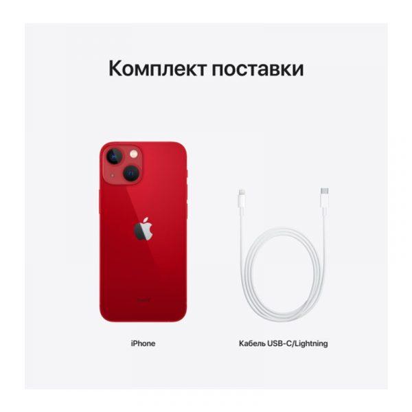 Смартфон Apple iPhone 13 mini 256GB (PRODUCT)RED (MLM73)-6