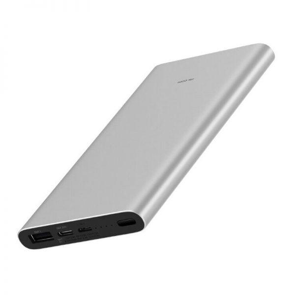 Аккумулятор Xiaomi Mi Power Bank 3 10000mAh (PLM12ZM) Silver-1