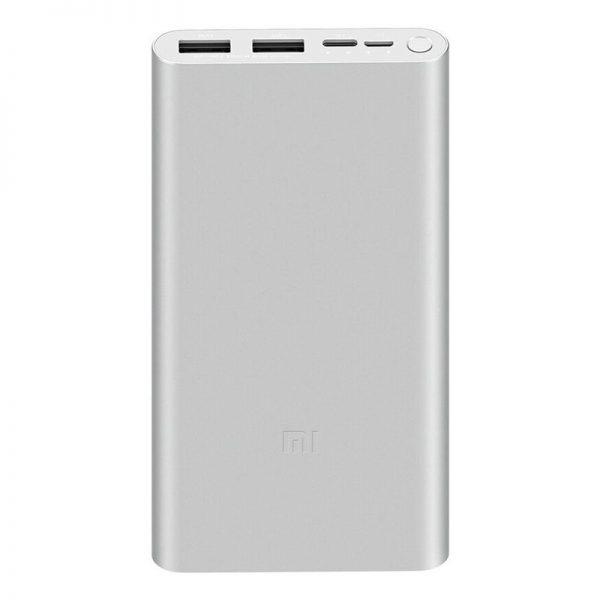 Аккумулятор Xiaomi Mi Power Bank 3 10000mAh (PLM13ZM) Silver-1