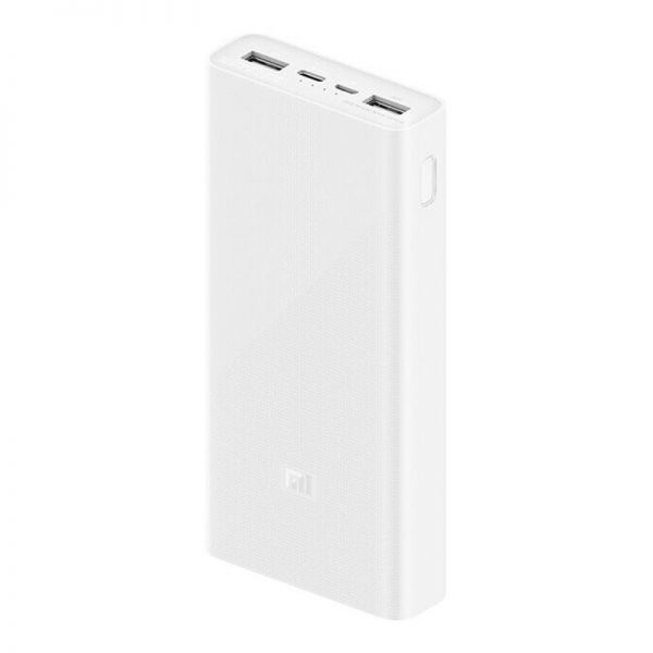 Аккумулятор Xiaomi Mi Power Bank 3 20000mAh Fast Charge QC3.0 (PLM18ZM) Белый-1