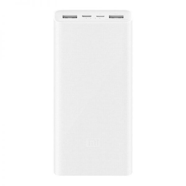 Аккумулятор Xiaomi Mi Power Bank 3 20000mAh Fast Charge QC3.0 (PLM18ZM) Белый