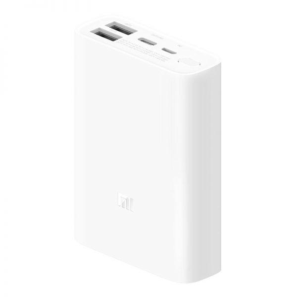 Аккумулятор Xiaomi Mi Power Bank Pocket Version 10000mAh Белый-1