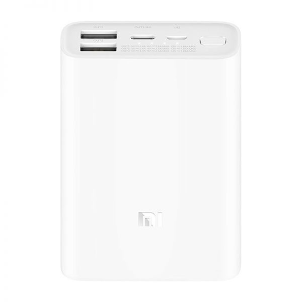 Аккумулятор Xiaomi Mi Power Bank Pocket Version 10000mAh Белый-3