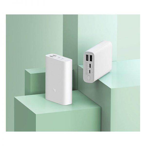 Аккумулятор Xiaomi Mi Power Bank Pocket Version 10000mAh Белый-7