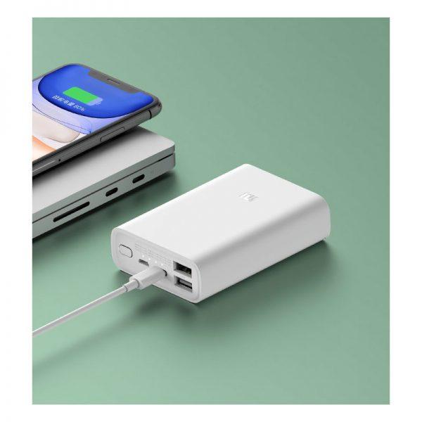 Аккумулятор Xiaomi Mi Power Bank Pocket Version 10000mAh Белый-8