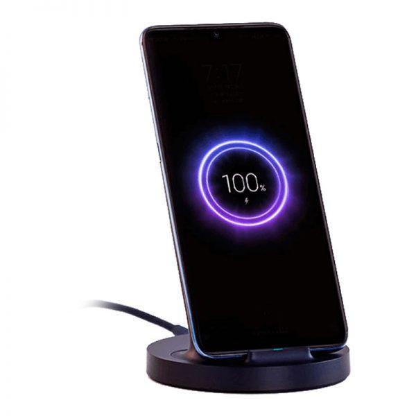Беспроводное зарядное устройство Xiaomi Vertical Wireless Charger 20W Black-2