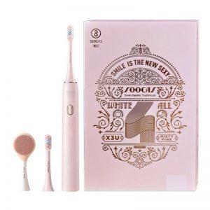 Электрическая зубная щетка Soocas X3U Set Розовая (EU)