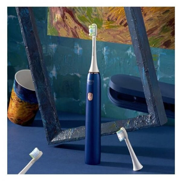 Электрическая зубная щетка Xiaomi Soocas X3U Van Gogh Museum Design Синяя-2