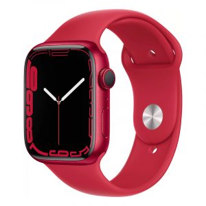 Умные часы Apple Watch Series 7 GPS 45мм Aluminium with Sport Band (PRODUCT)RED (MKN93)