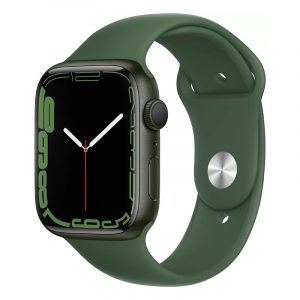 Умные часы Apple Watch Series 7 GPS 45мм Aluminium with Sport Band Зелёный клевер (MKN73)