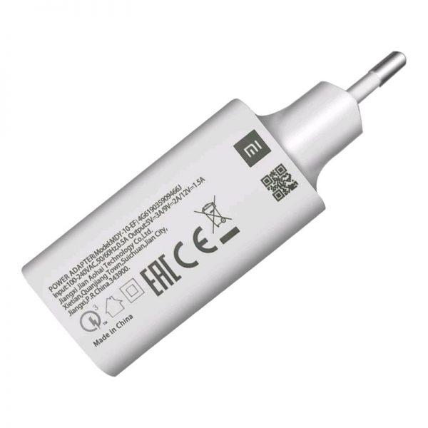 Зарядное устройство Xiaomi USB 3A (MDY-10-EF) Белый-3