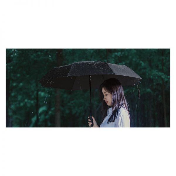 Зонт Zuodu Automatic Umbrella Led Черный-2
